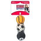 Теннисный мяч  Kong Air  для собак, очень маленький , 4 см  х 3 шт, микс