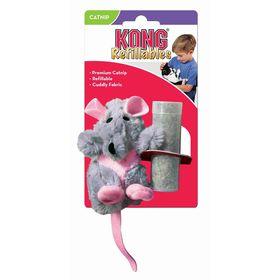 """Игрушка Kong  """"Крыса"""" с кошачьей мятой для кошек, плюш"""
