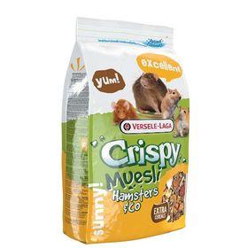 Корм VERSELE-LAGA Crispy Muesli Hamsters & Co для хомяков и др.грызунов, 1 кг