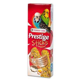 Палочки VERSELE-LAGA Prestige для волнистых попугаев, яйцо/ракушечник, 2х30 г.
