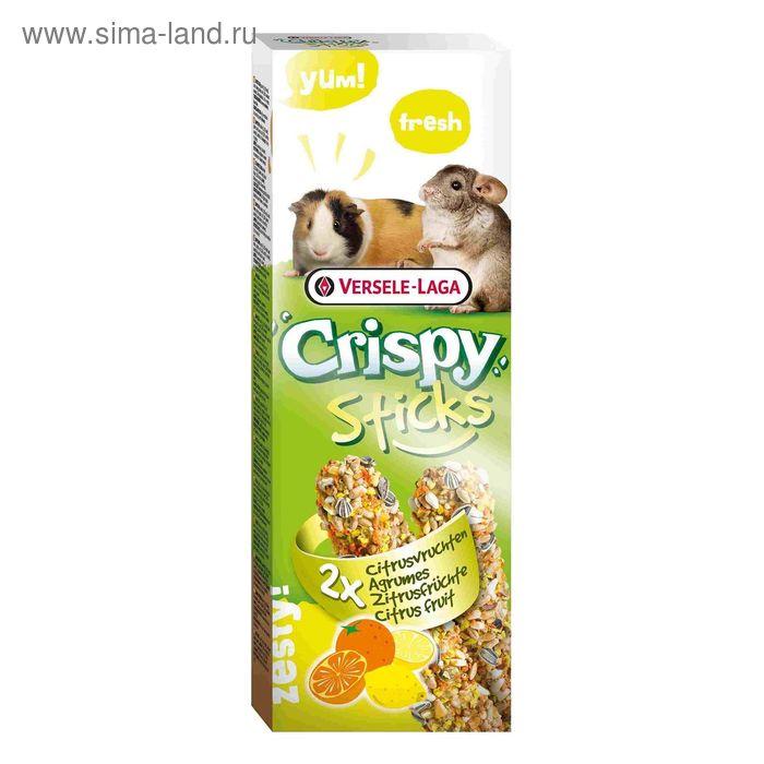 Палочки VERSELE-LAGA Crispy  для морских свинок и шиншилл, с цитрусовыми, 2х55 г