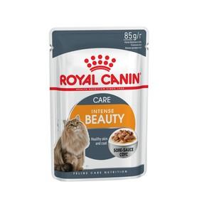 Влажный корм RC Intense Beauty для кошек, для кожи и шерсти, в соусе, пауч, 85 г
