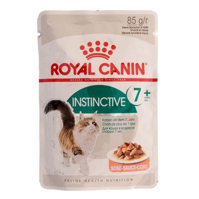 Влажный корм RC Instinctive + 7 для кошек, в соусе, пауч, 85 г - Фото 1