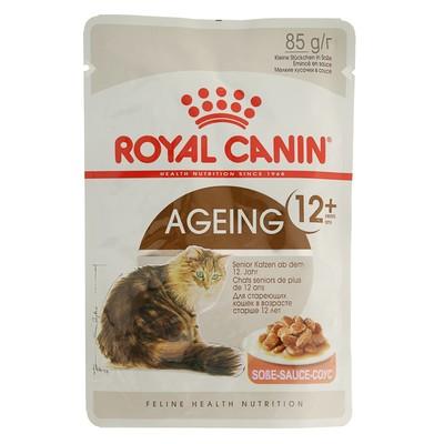 Влажный корм RC Ageing + 12 для кошек, в соусе, пауч, 85 г - Фото 1