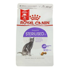 Сухой корм RC Sterilised 37 для стерилизованных кошек, 400 г