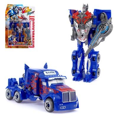 Робот «Герой», трансформируется, цвета МИКС - Фото 1