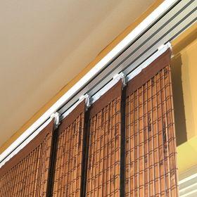 Панель для крепления штор японская, 60 см, цвет белый