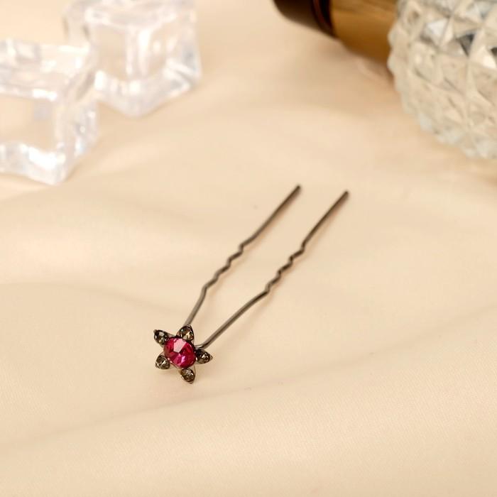 Шпилька для волос Аленький цветочек микс