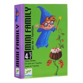 """Детская настольная  карточная  игра """"Мини-семья"""""""