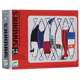 Детская настольная карточная игра «Сардины»