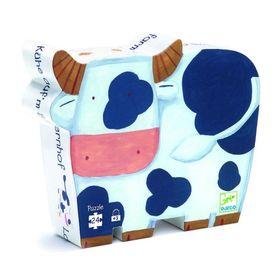 Пазл «Коровы на ферме»