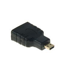 Переходник LuazON, HDMI (f) - micro HDMI (m) Ош