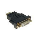 Переходник Luazon HDMI (M) - DVI (F)