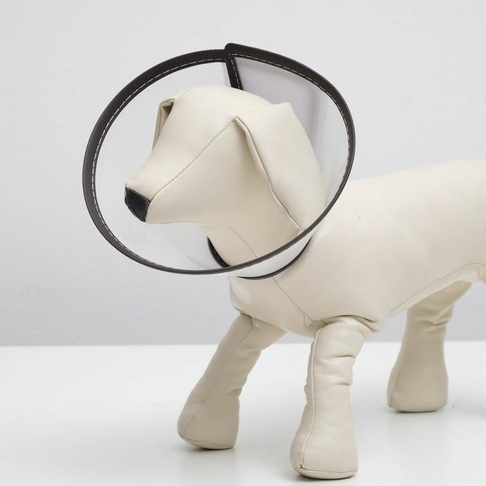 """Ветеринарный воротник """"Пижон Premium"""" №3, обхват шеи 22,5 см, высота 11 см"""