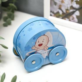 Шкатулка 'Мальчик в коляске' Ош