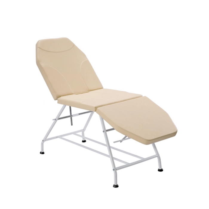 Кресло косметологическое К-01, 183х58х68, цвет слоновая кость