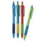 Ручка шариковая, 0.5 мм, автоматическая, Vinson Fine, корпус с резиновым держателем, стержень масляный синий, МИКС