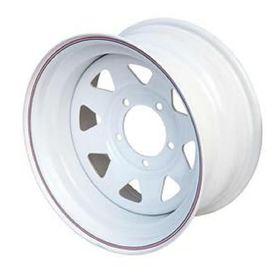 Диск штампованный J&L RACING J163-17 8x15 6x139,7 ET19 d110,1 белый (с колпаком) Ош
