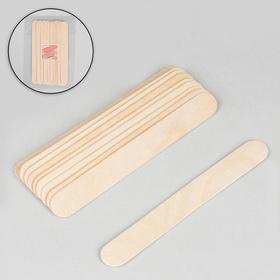 Шпатели для депиляции, деревянные, 15 × 1,7 см, 10 шт Ош