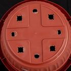 Горшок с поддоном «Таити», 11,9 л, цвет терракотовый - Фото 3