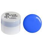 Гель-краска для ногтей трёхфазный LED/UV, 8мл, цвет 21 синий