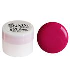 Гель-краска для ногтей трёхфазный LED/UV, 8мл, цвет 32 малиновый