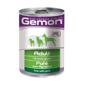 Влажный корм Gemon Dog для собак, паштет из ягненка, ж/б, 400 г