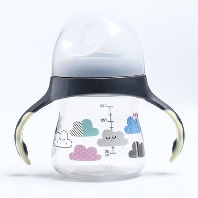 Поильник-непроливайка с мягким носиком «Малыши и Малышки», 150 мл, от 4 мес., цвета МИКС - Фото 1