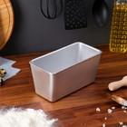 Форма для выпечки хлеба, 21х10 см, литой алюминий