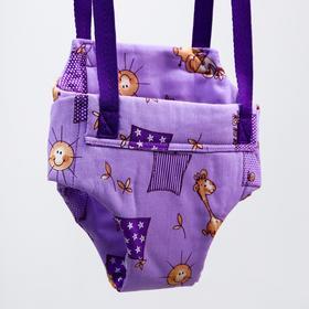 Детские прыгунки-качели 2 в 1 Baby Jamp, на экспандерном шнуре, цвета МИКС Ош
