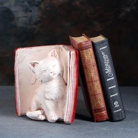 Подставка для книг 'Котята' правый, красно-коричневый 20см Ош