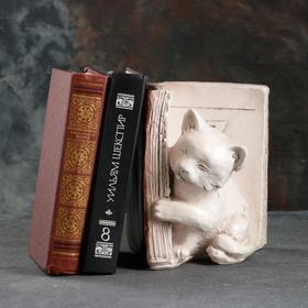 Подставка для книг 'Котята' левый, красно-коричневый , 20 см Ош