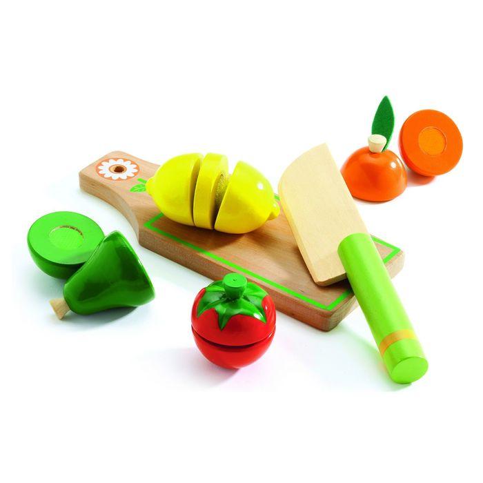 «Набор «Учусь готовить. Фрукты и овощи» на липучках, 6 предметов