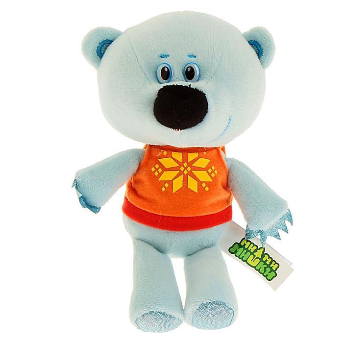 Мягкая музыкальная игрушка «Медвежонок Белая Тучка»