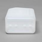 Канистра пищевая «Евро», 1 л, белая - Фото 7