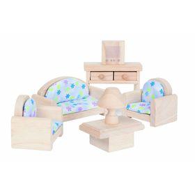 Мебель кукольная классик «Гостиная», 5 предметов