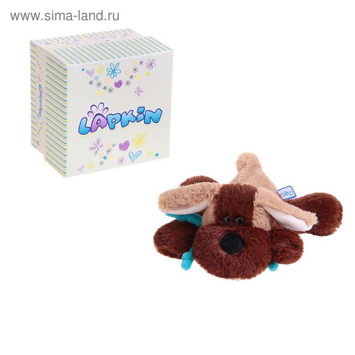 Мягкая игрушка «Собака», цвет коричневый/светло-коричневый