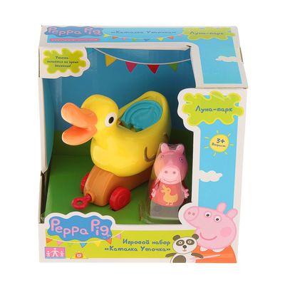 """Игровой набор """"Каталка Уточка"""" с фигуркой т.м. Peppa Pig 31010"""