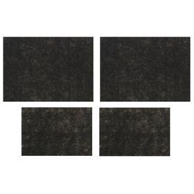 Коврики влаговпитывающие AVS VK-03, 50х38 см, 25х38 см, набор 4 шт Ош
