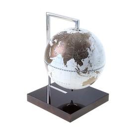 Глобус-сувенир настольный, белый, d 22 см