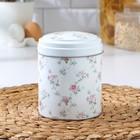 Банка для сыпучих продуктов круглая, Рязанская фабрика жестяной упаковки «Флора», 10×11 см , 0,8 л, цвет МИКС - Фото 3