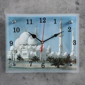 """Часы настенные, серия: Город, """"Мусульманские"""", 20х25  см, микс"""