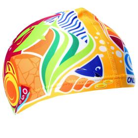 Шапочка для плавания «Подводный мир», детская, текстиль Ош