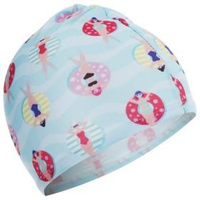 Шапочка для плавания ONLITOP CAKE, детская, цвета МИКС Ош