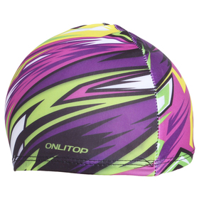 Шапочка для плавания ONLITOP Action, детская, текстиль Ош