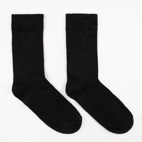 Носки мужские OPTIMA, цвет черный, размер 27-29