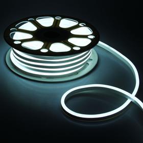 Гибкий неон, 8х16 мм, 25 м, LED/м-120-SMD2835-220V, БЕЛЫЙ Ош