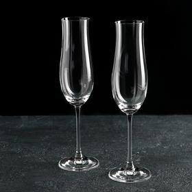 Набор бокалов для шампанского Bohemia Crystal «Аттимо», 180 мл, 2 шт