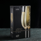 Набор бокалов для шампанского Bohemia Crystal «Аттимо», 180 мл, 2 шт - Фото 2