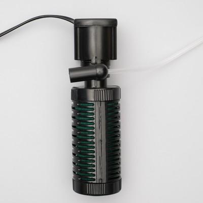Внутренний фильтр Jeneca IPF-448, 6 Вт, 450 л/ч, высота подъема воды 0,72 м - Фото 1